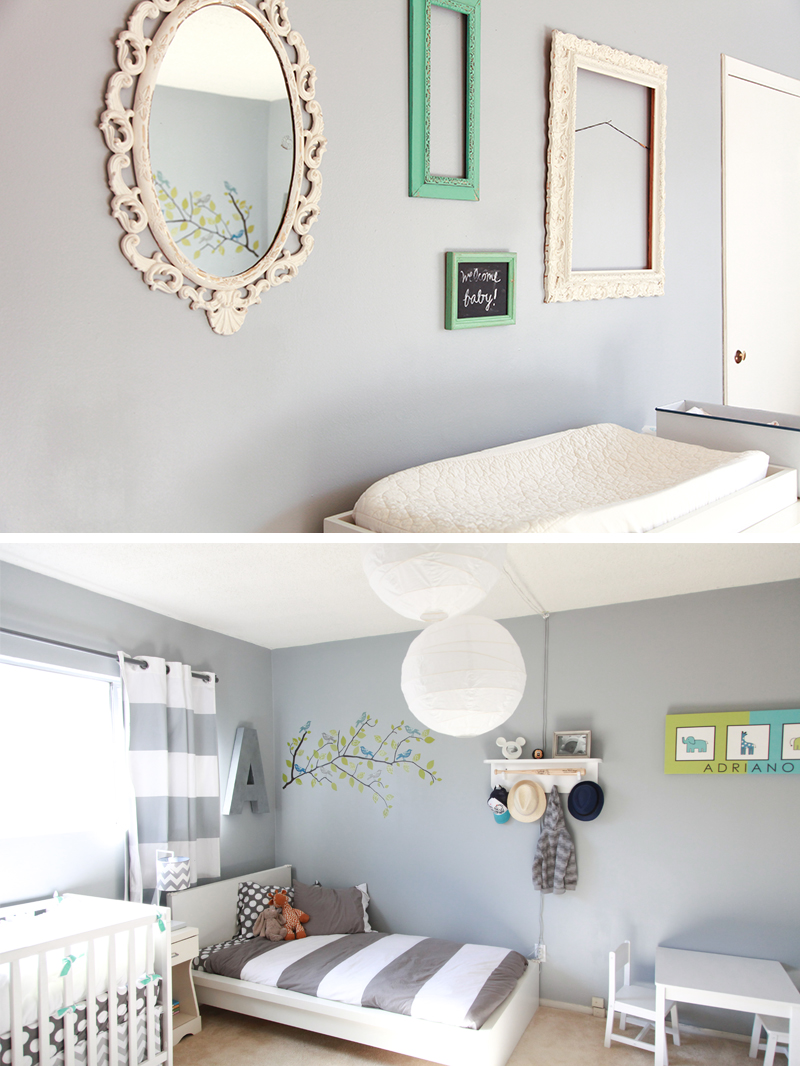 boy + girl room