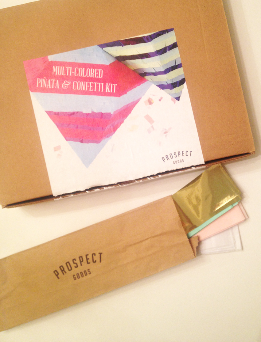 prospect goods diy piñata kit