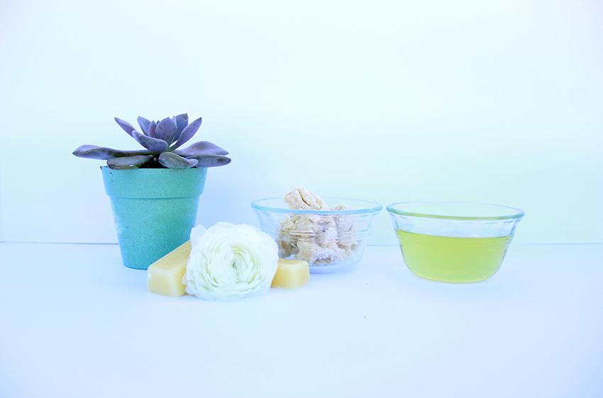 raw natural ingredients