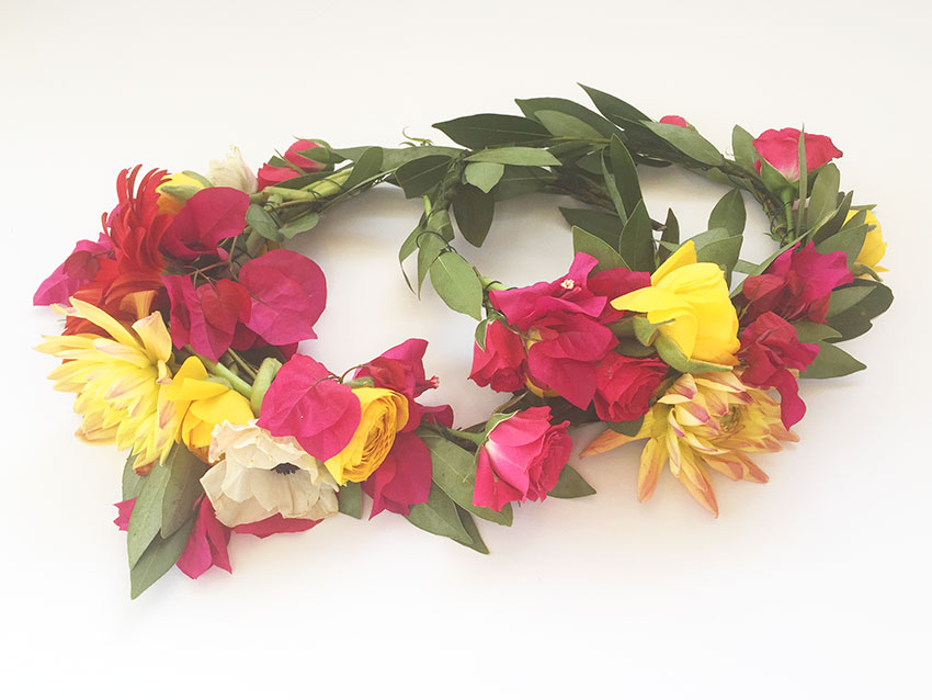 flower crowns by paige rangel // the love designed life