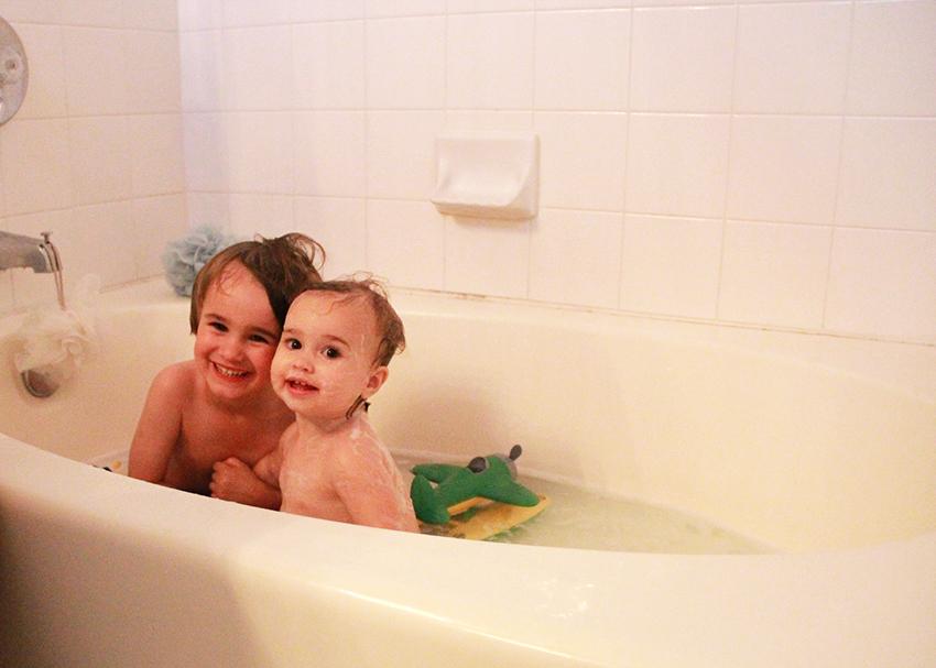 bathing babes
