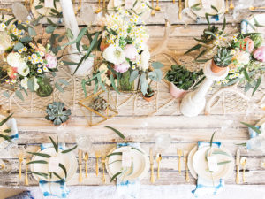 love alll the details of this boho brunch table design | styled by paige of the love designed life
