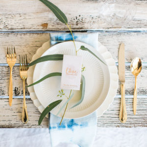 such a pretty set up! | styled by paige of the love designed life