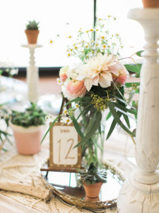 florals + beautiful boho table styling by paige of the love designed life