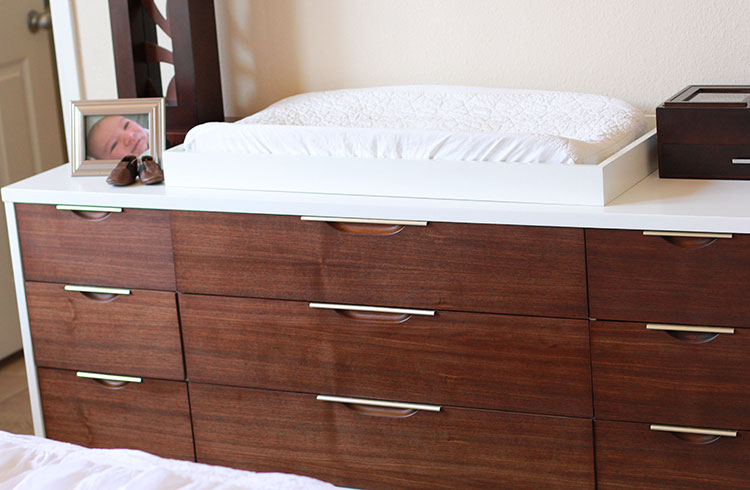 beautifully refinished kent coffey dresser | the love designed life