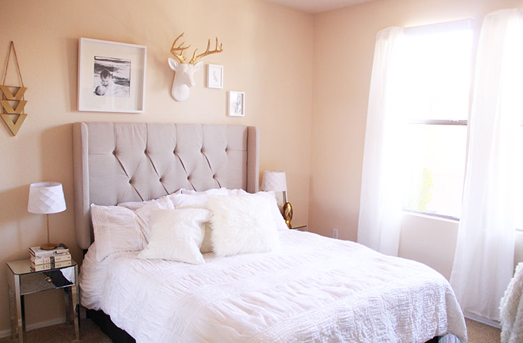 bedroom refresh | the love designed life