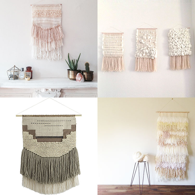 woven wall art inspiration | the love designed life