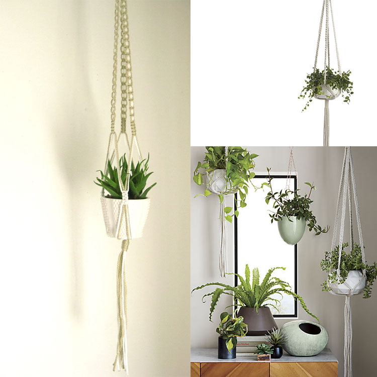 macramé plant holder inspiration | the love designed life