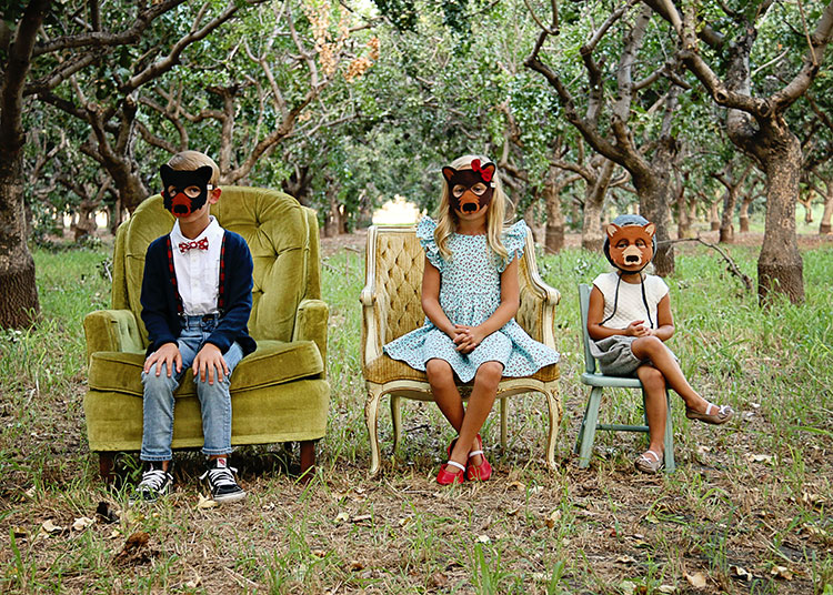 the three bears sitting in chairs | the love designed life