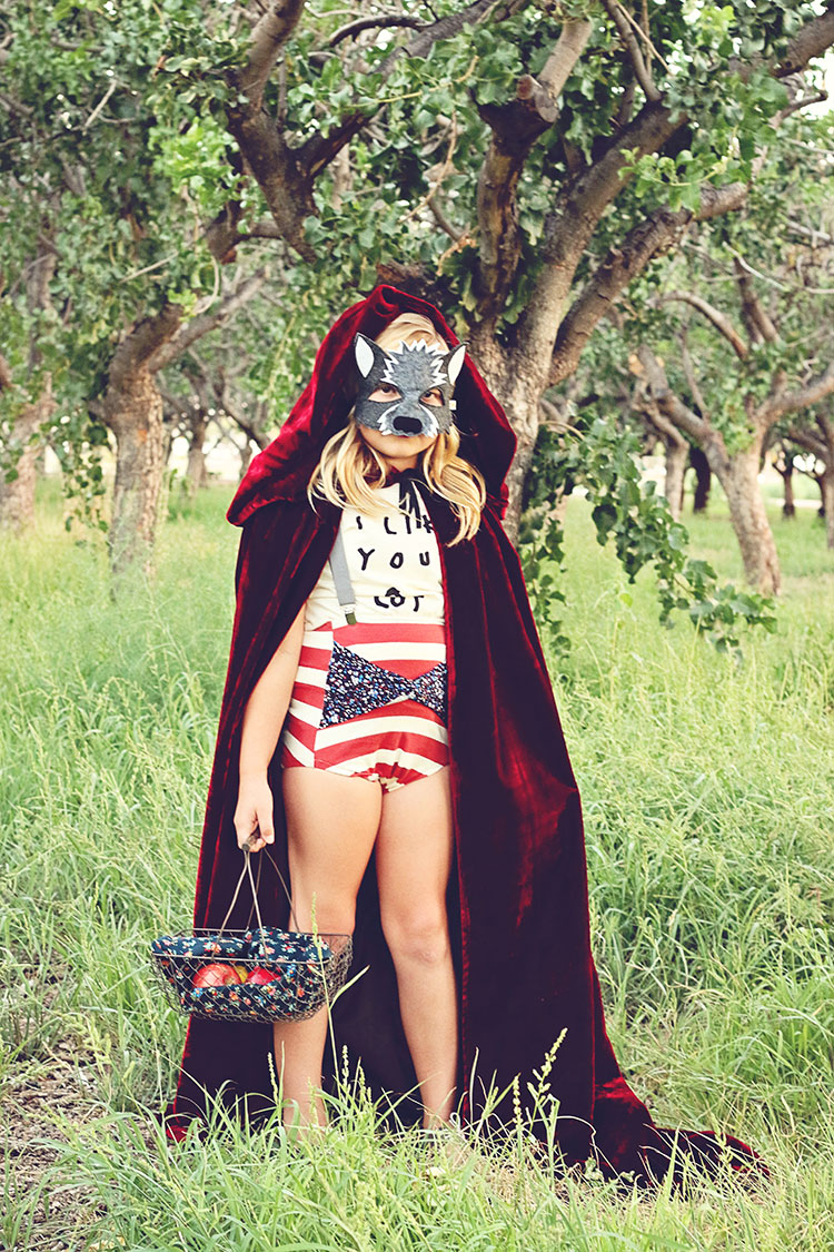 little red riding hood and the wolf |  opposite of far storybook series | QianaK Photography | the love designed life