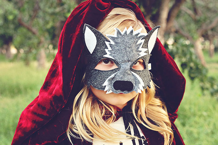 the big bad wolf | opposite of far storybook series | QianaK Photography | the love designed life