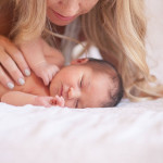 newborn baby love | mother + child co. | dream photography studio for the love designed life