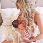 mother + child breastfeeding | the love designed life