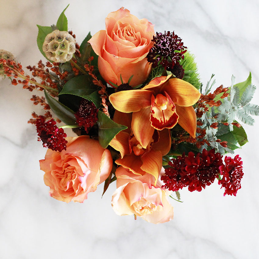 pretty fall flowers | the love designed life