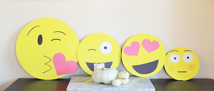 diy emoji costumes for the whole family   the love designed life