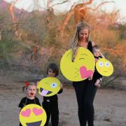 diy last minute emoji costumes | the love designed life