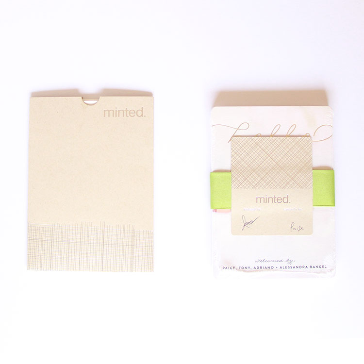 our minted cards, arriving in style | the love designed life