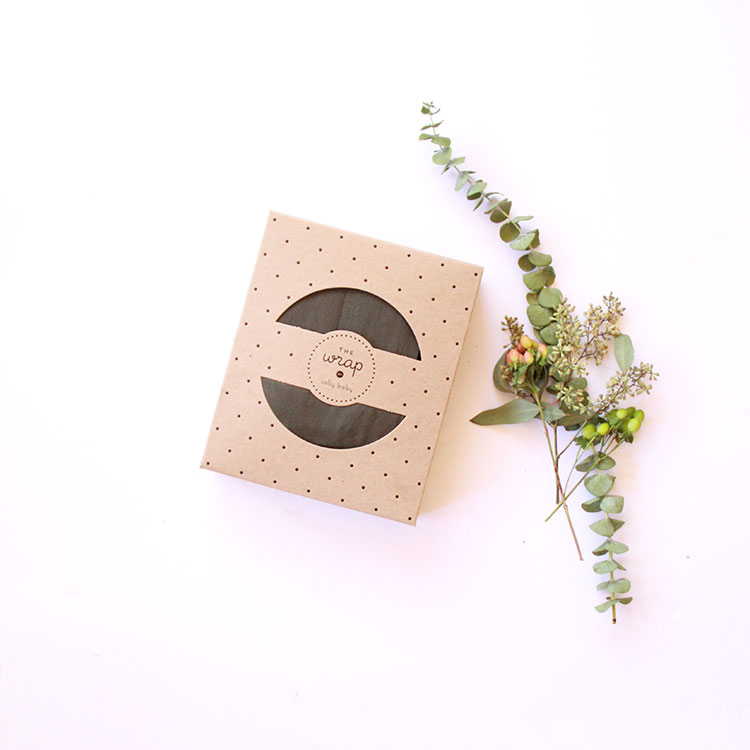 love the eco friendly and locally made packaging on the solly baby wrap | the love designed life