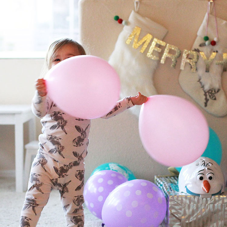 can't go wrong with balloons for a kid's birthday morning surprise | the love designed life