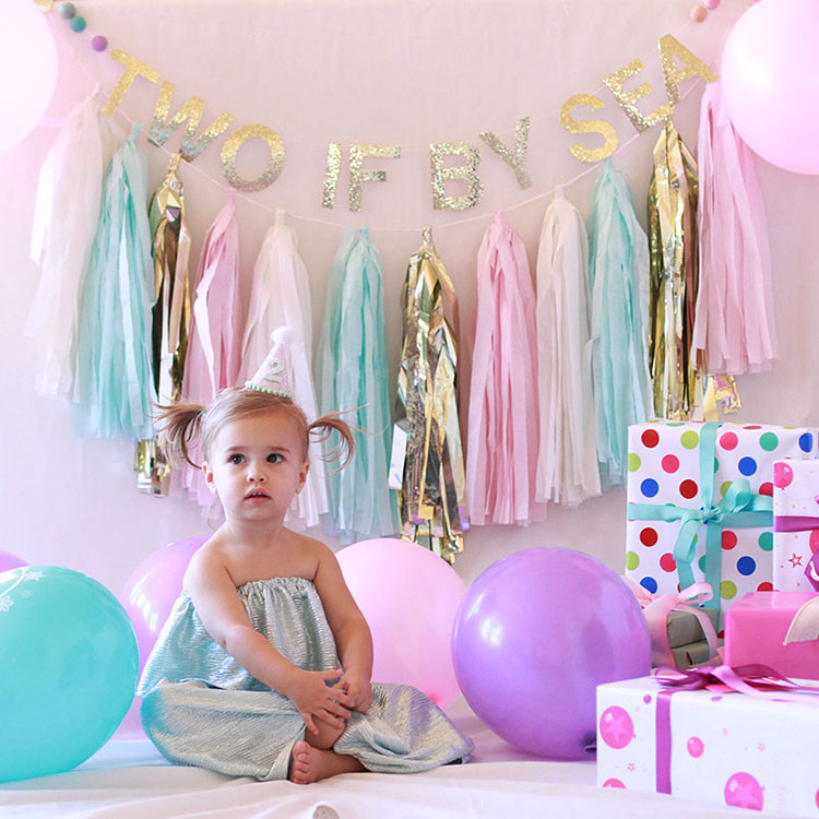 two if by sea mermaid birthday party | the love designed life