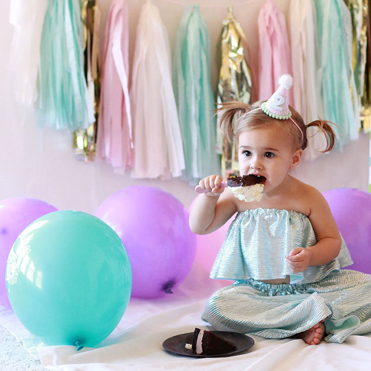 cake smash for second birthday party | the love designed life