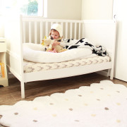 little girl in her new big girl bed | the love designed life