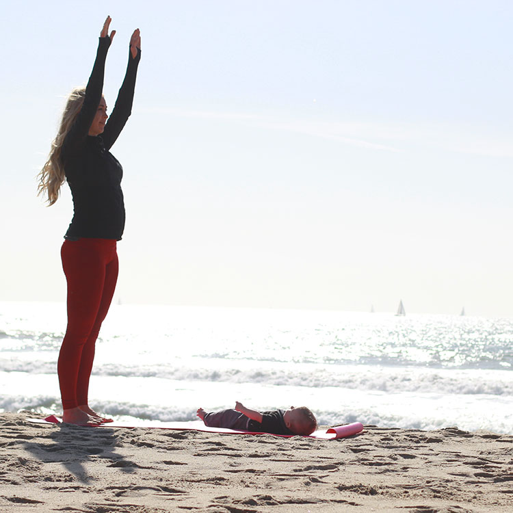 m and m pilates on the beach | the love designed life