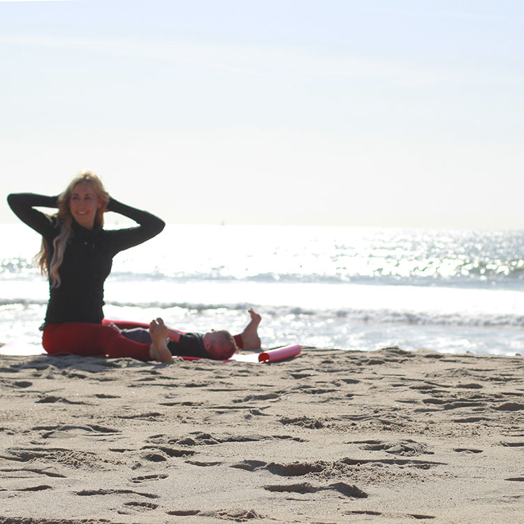 spine twist | m and m pilates on the beach | the love designed life