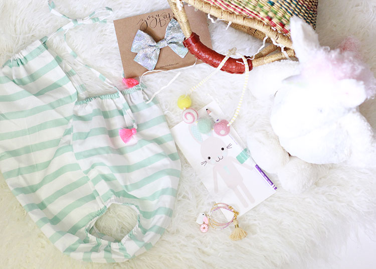 pretty, girly, easter basket goodies for little ones | the love designed life