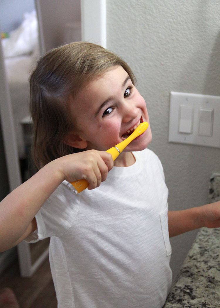 happy tooth brusher! | the love designed life