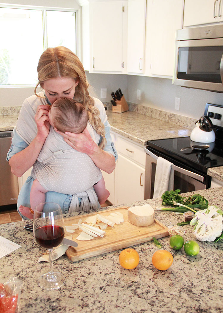 lots of kiss breaks when cooking | the love designed life