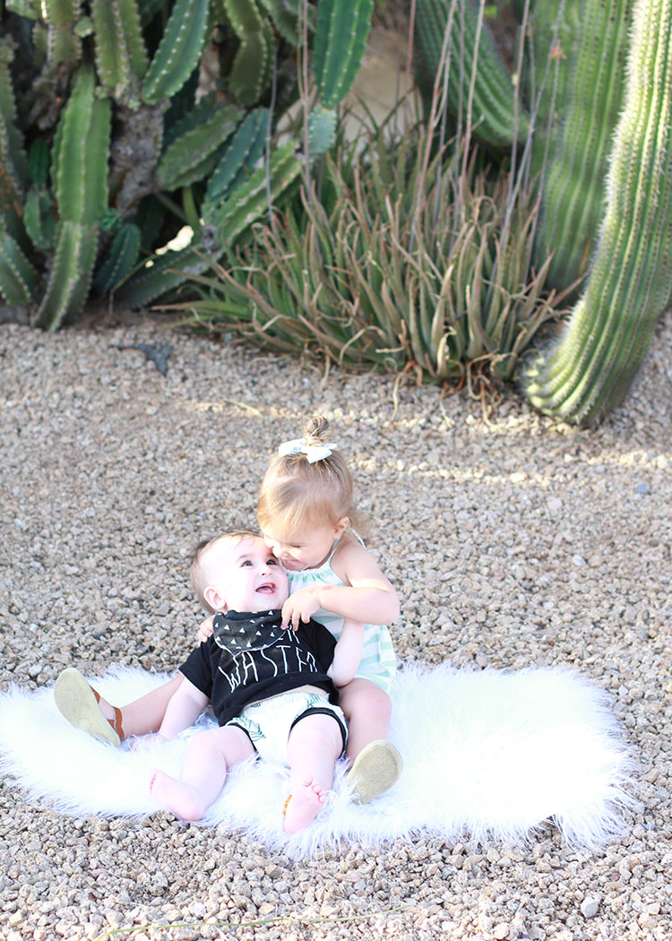 two little desert babes | the love designed life