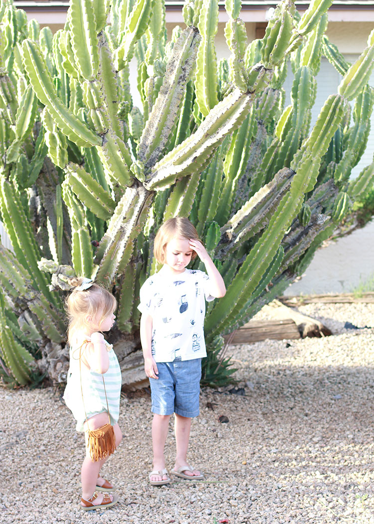 my two desert explorers | the love designed life
