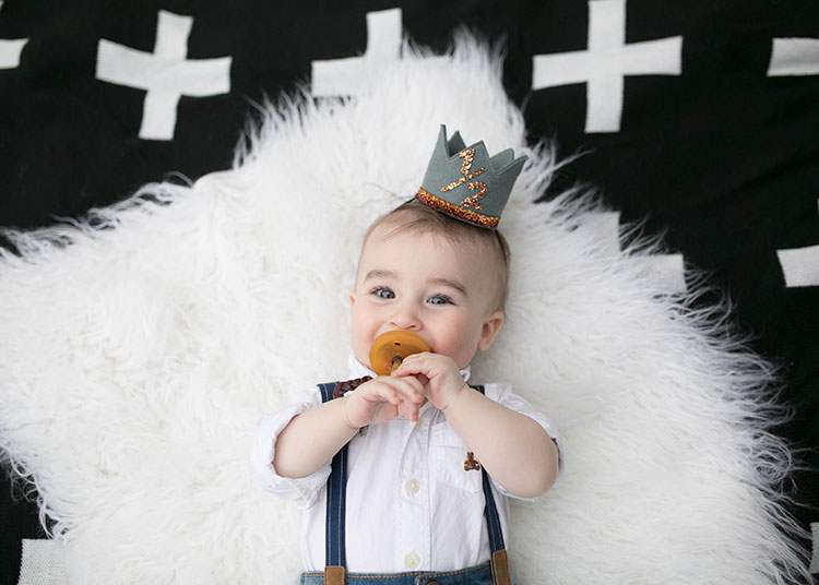 baby boy half birthday pics | the love designed life