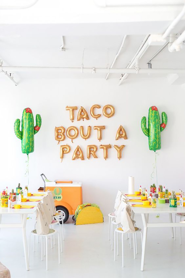 taco bout a party! inspo via studio diy | the love designed life