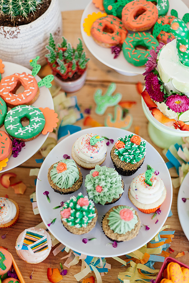 just say yes to succulent cupcakes. inspo via the shift creative | the love designed life