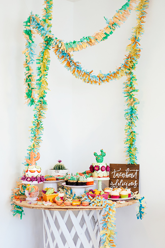 cutest succulent dessert table inspo via the shift creative | the love designed life