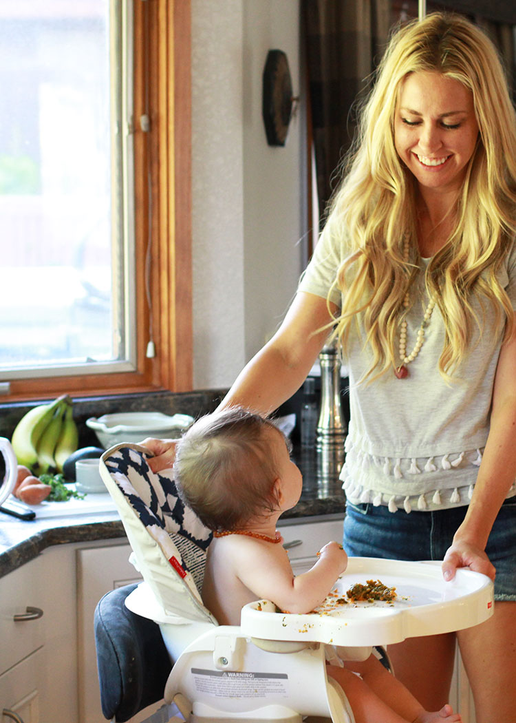 super easy homemade baby food [give them what you're eating!] | the love designed life