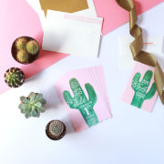 the most perfect saguaro cactus invitation suite for a first birthday fiesta by minted | the love designed life