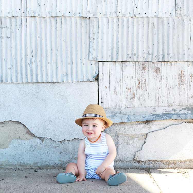 baby boys in little rompers are the best! | the love designed life