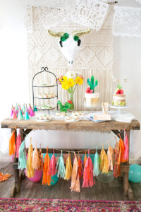 diego's first fiesta! margarita + sangria bar for diego's first fiesta | created by: the love designed life | pc: dream photography studio