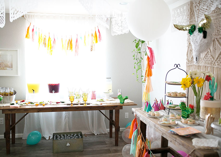 margarita + sangria bar for diego's first fiesta | created by: the love designed life | pc: dream photography studio