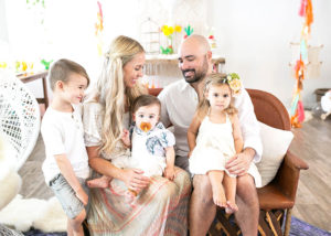 the whole family celebrating diego's first fiesta! | styled by the love designed life