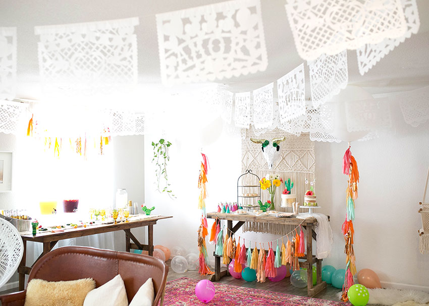 a modern mexican fiesta | created by: the love designed life | pc: dream photography studio