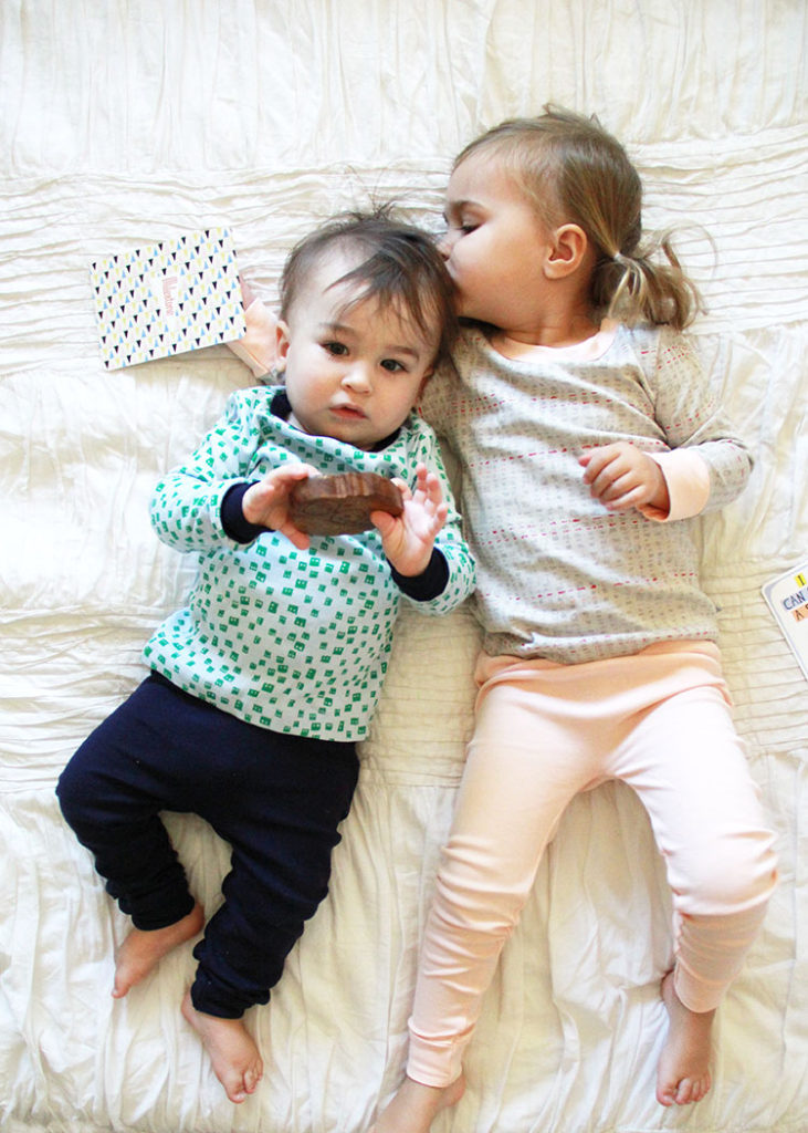 fall jammies and cute natural baby toys | the love designed life