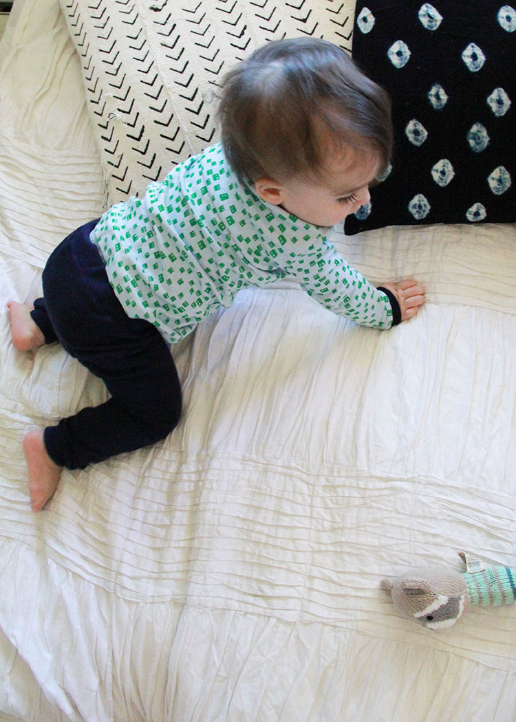 soft, organic cotton jammies from finn + emma | the love designed life