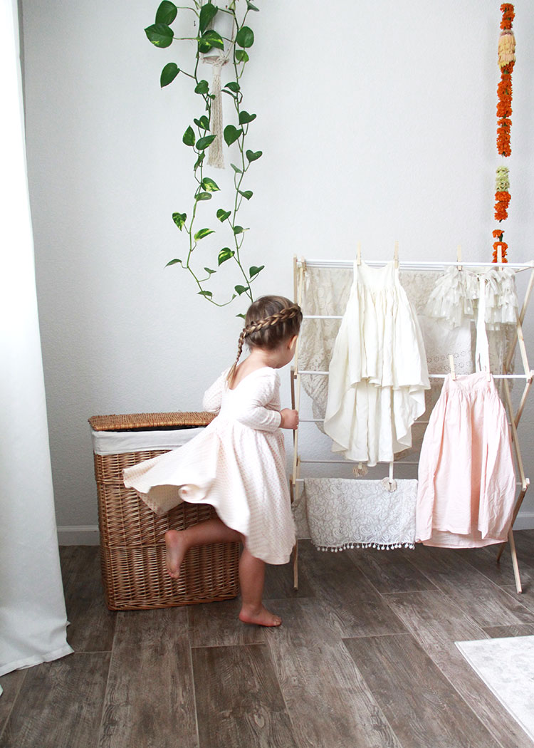 laundry day! safe products for the home when you have severe allergies + eczema | the love designed life