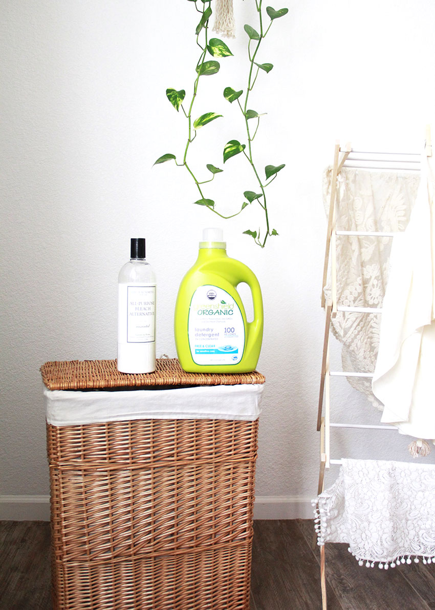 SAFE cleaning + laundry products for your home | the love designed life