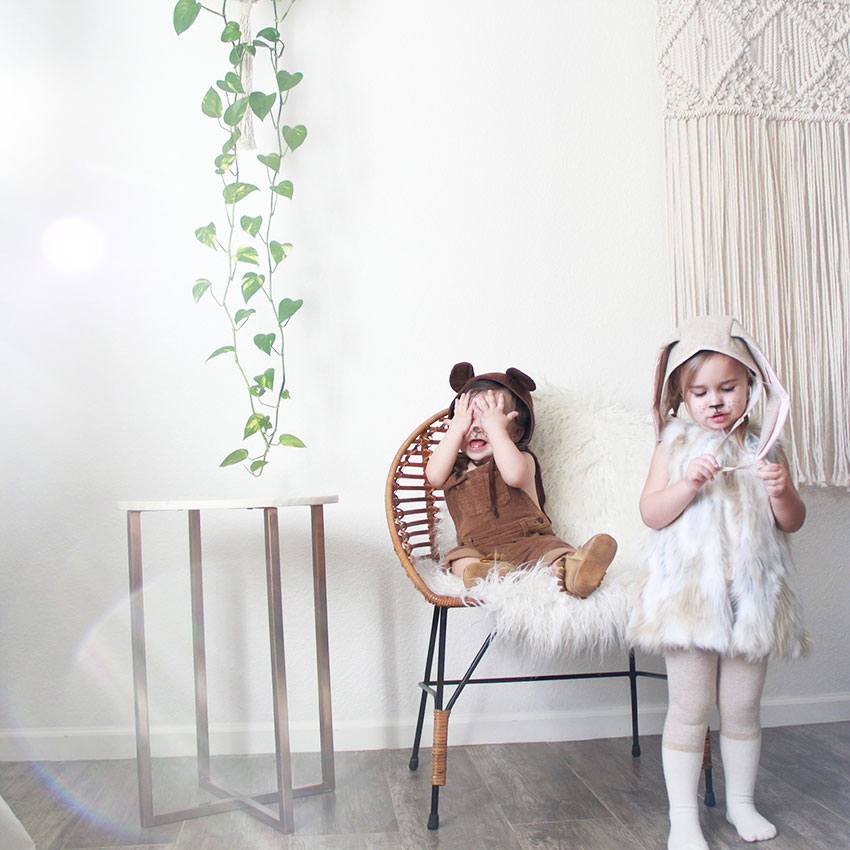 where's baby bear? sweet halloween costumes with pieces you probably already have   thelovedesignedlife.com