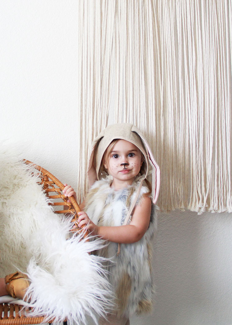 sweet bunny girl costume | thelovedesginedlife.com